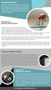 Overhead Door Maintenance by Door Repair Fallbrook Infographic
