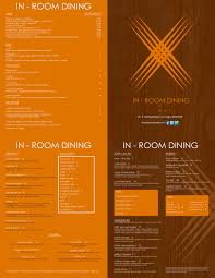 scintillating in room dining menu images best idea home design