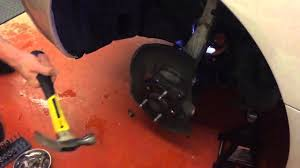 lexus sc300 hub bore 2002 lexus ls 430 wheel hub replacement youtube