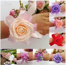Wrist Corsage Supplies Wedding Banquet Party Supplies Bridal Bridesmaid Flower Wrist