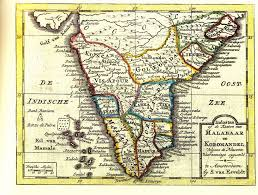 South India Map by Ancient Maps India Travel Forum Indiamike Com