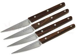 ontario kitchen knives ontario robeson viking 4 steak knife set 4 sandvik 14c28n