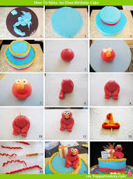 elmo birthday how to make an easy elmo birthday cake