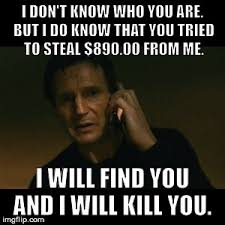 Identity Theft Meme - just found out someone tried to steal my identity what a big