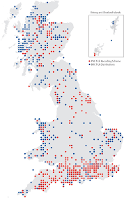 Lyme Map Effect Of Climate Change On Vector Borne Disease Risk In The Uk
