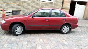 red nissan car nissan almera 1 6 n15 facelift