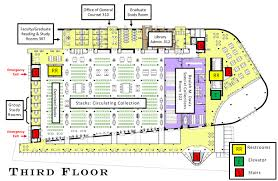 floor plans library first floor library second floor library third floor