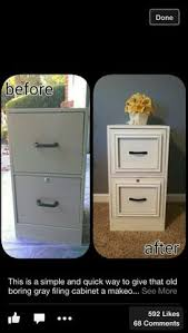 files cabinet by awesome table 10 ways to refurbish a filing cabinet dorm craft and crafty