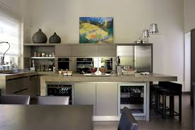 cuisine avec cave a vin ilot central cuisine lancelin fils cuisiniste cuisine avec cave