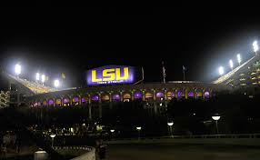 lsu football u0027s tiger stadium gets a new lighting system espn