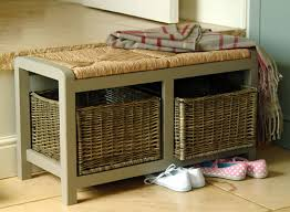 Shoe Storage Bench Lovable Shoe Storage Bench With Seat Hallway Storage Bench With
