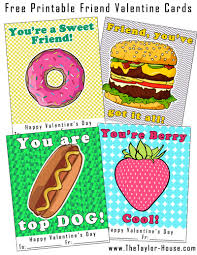 cards for friends free printable friend cards the house