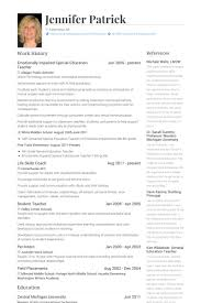 Example Teacher Resume by Resume Example For Special Education Teacher Templates