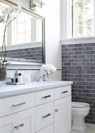 master bathroom ooohhhh white cabinets with silver hardware