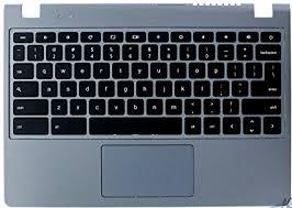 acer chromebook keyboard light amazon com acer chromebook c720 replacement keyboard palmrest