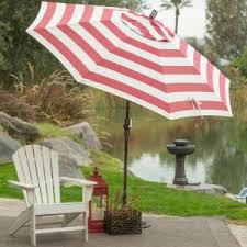 Striped Patio Umbrella Patterned Patio Umbrellas Hayneedle