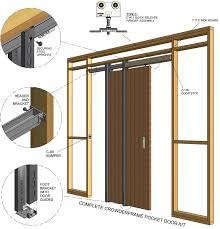 Exterior Pocket Door Homeofficedecoration Exterior Pocket Door