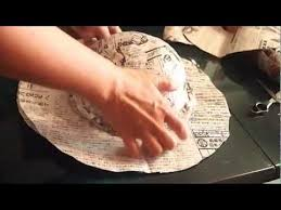 how to make hat using newspaper part 2 youtube