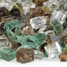 Fire Pit Glass Rocks by Firepit Glass Rocks Per Pound Shoprecycled
