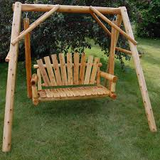 best wood porch swing home depot kimberly porch and garden