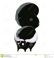 cartoon fat skunk stock vector image 93953758