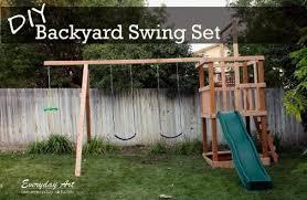 Backyard Cing Ideas For Adults Creative Designs Backyard Swing Ideas 32 Porch And Home Design