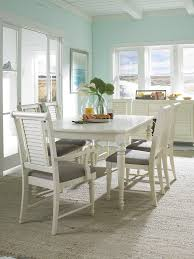 Dining Room Tables White by Furniture Lovely White Wooden Dining Chairs With Gray Seat And