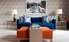 blue and orange room fall into orange living room accents for all styles