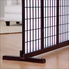 furniture awesome three panel room divider living room screen