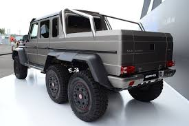 six wheel mercedes suv mercedes g63 amg 6x6