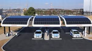 solar panel parking lot lights solar power for electric vehicles clean fuel connection news