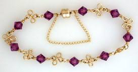 How To Make Jewelry Out Of Wire - four leaf clover bracelet