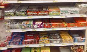 candy selection for movies cheaper than buying movie theater