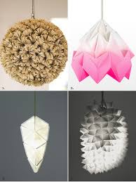 Paper Lighting Fixtures The Best Of The Best Paper Light Fixtures The Interiors Addict