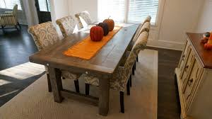 rustic farm dining room table the uniqueness and the common