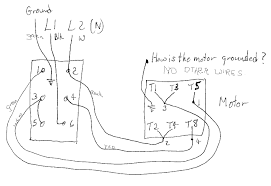 single phase motor reverse and forward connection youtube