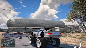 gta 5 mercedes clk gtr super monster truck mod gtainside