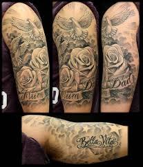 doves roses inkfreakz com tattoos