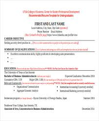Sample Business Resume Template by 40 Free Business Resume Free U0026 Premium Templates