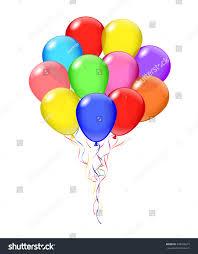 bunch balloons vector transparent balloons bunch balloons opacity stock vector