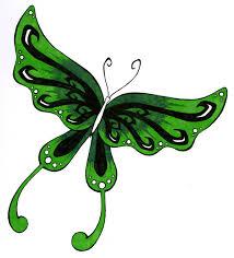 green butterfly by servant of the pen on deviantart