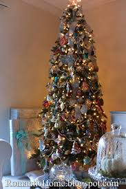 Decoration For Christmas Tree 2015 by My Romantic Home Christmas Tree 2015 Show And Tell Friday