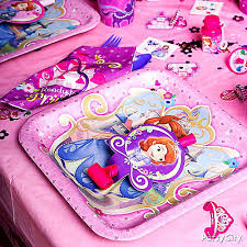 sofia the first table sofia the first place setting idea party city party city