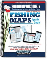 Map Of Southern Wisconsin by Southern Wisconsin Fishing Map Guide Sportsman U0027s Connection