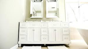 white bathroom sink cabinet white under sink shaker style bathroom