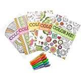 amazon 4 mini coloring books relaxation
