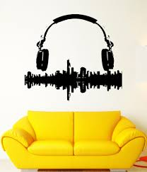 wall sticker vinyl decal music melody from wallstickers4you full size full size