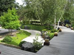 Japanese House Plants Luxurious Exterior House With Japanese Garden Design With Rock