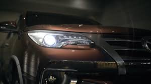 toyota global toyota fortuner concept video toyota global site youtube