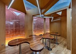 red wall teahouse by cutscape architecture at beijing u0027s forbidden city